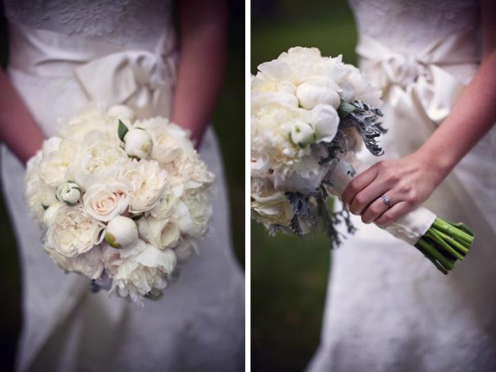Classic Pink & Gray Wedding {Part 1} via TheELD.com