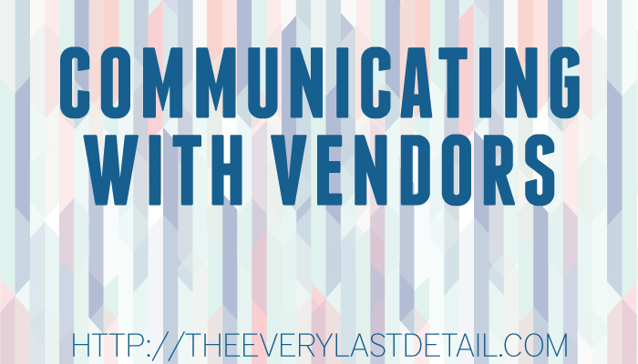 Things To Keep In Mind When Communicating With Vendors via TheELD.com
