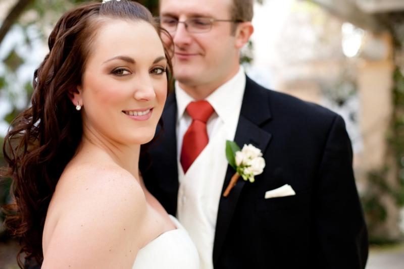 Elegant Orange & Blue Orange Grove Themed Wedding  via TheELD.com