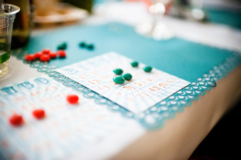 Detail To Love: Reception Bingo! via TheELD.com