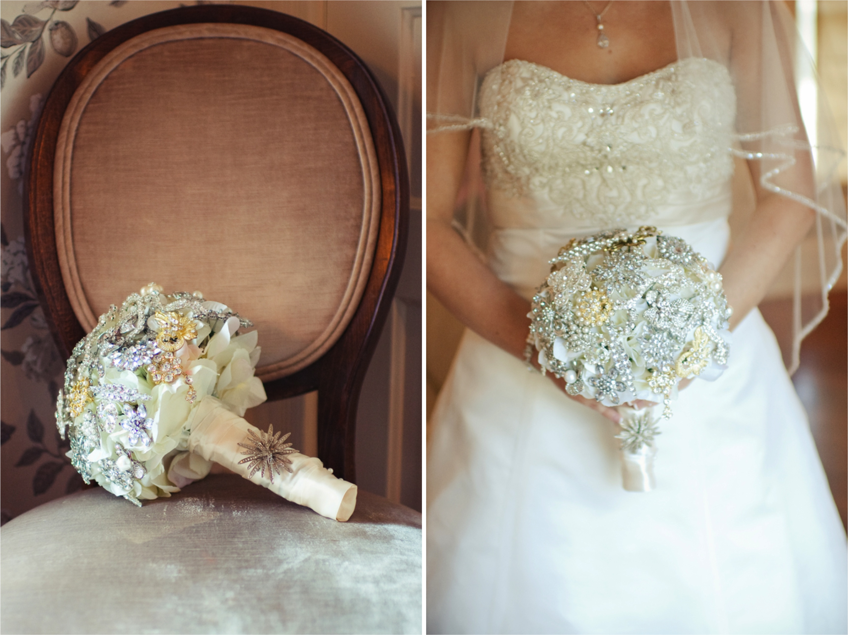 Elegant and Vintage Pink Florida Wedding via TheELD.com
