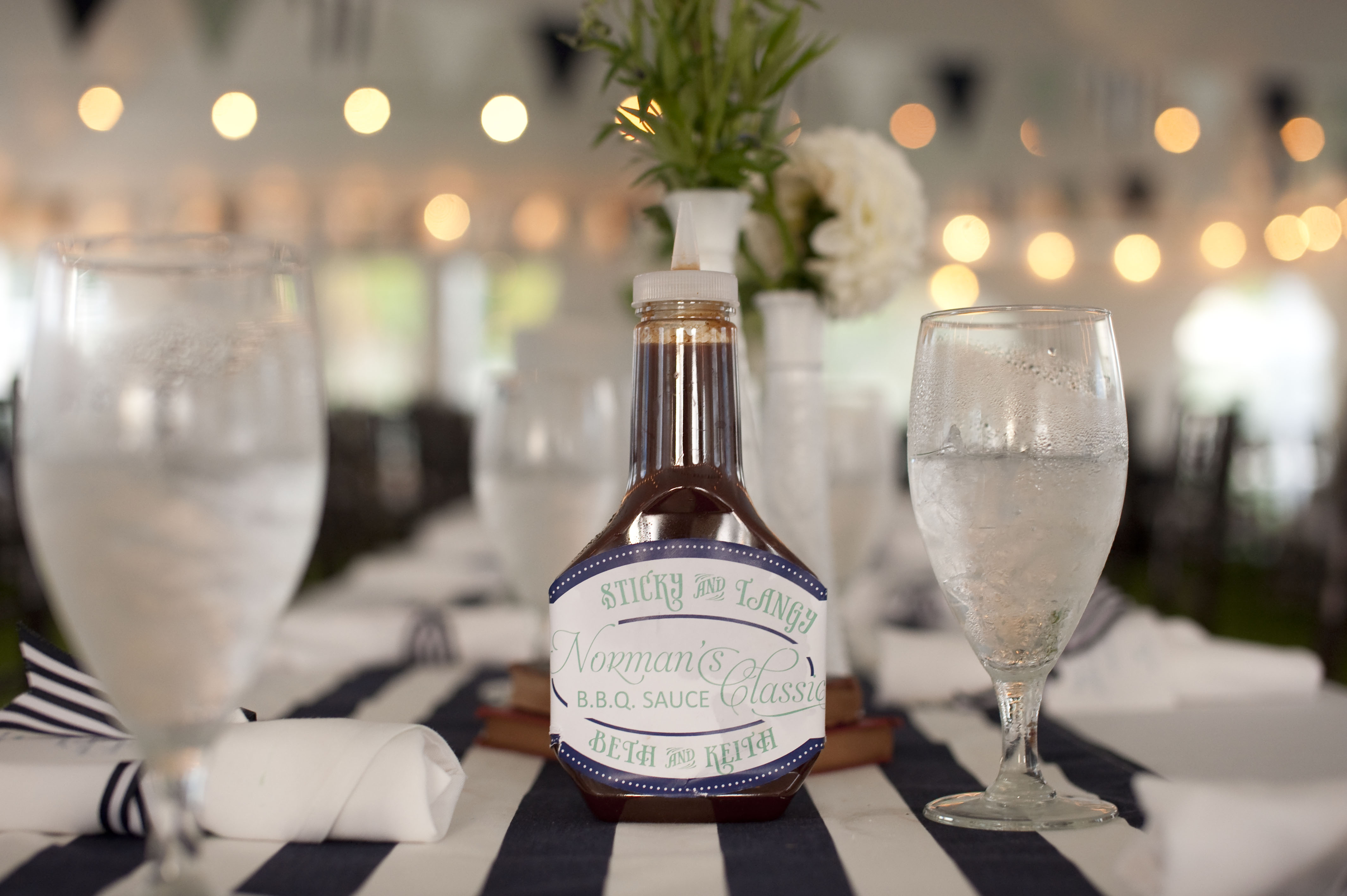 Detail To Love: Personalized BBQ Sauce! via TheELD.com