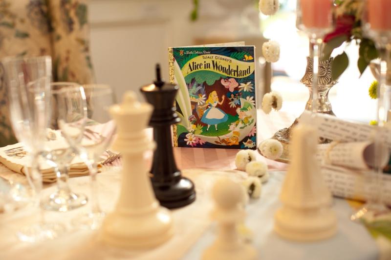 Whimsical Alice In Wonderland Wedding via TheELD.com