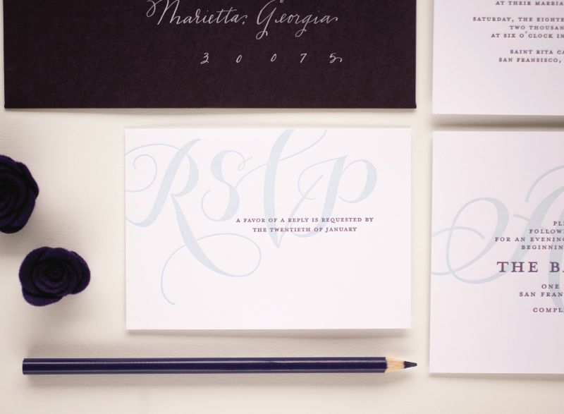 Stationery Week: Informing Guests With Your Wedding Invitation via TheELD.com