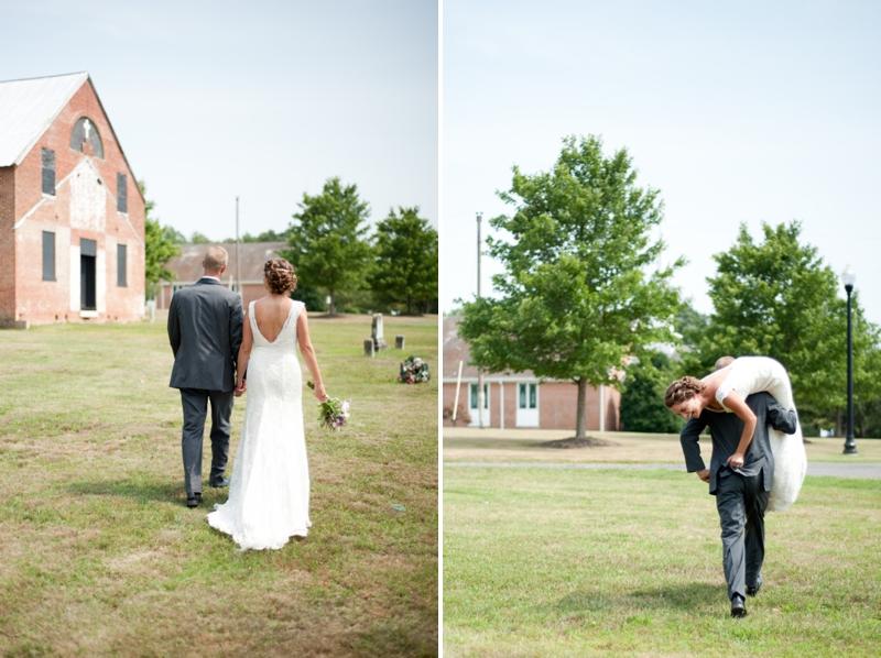 Pink Rustic DIY Maryland Wedding via TheELD.com