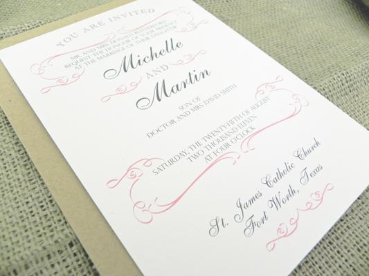 Stationery Week: Wedding Invitation Wording via TheELD.com