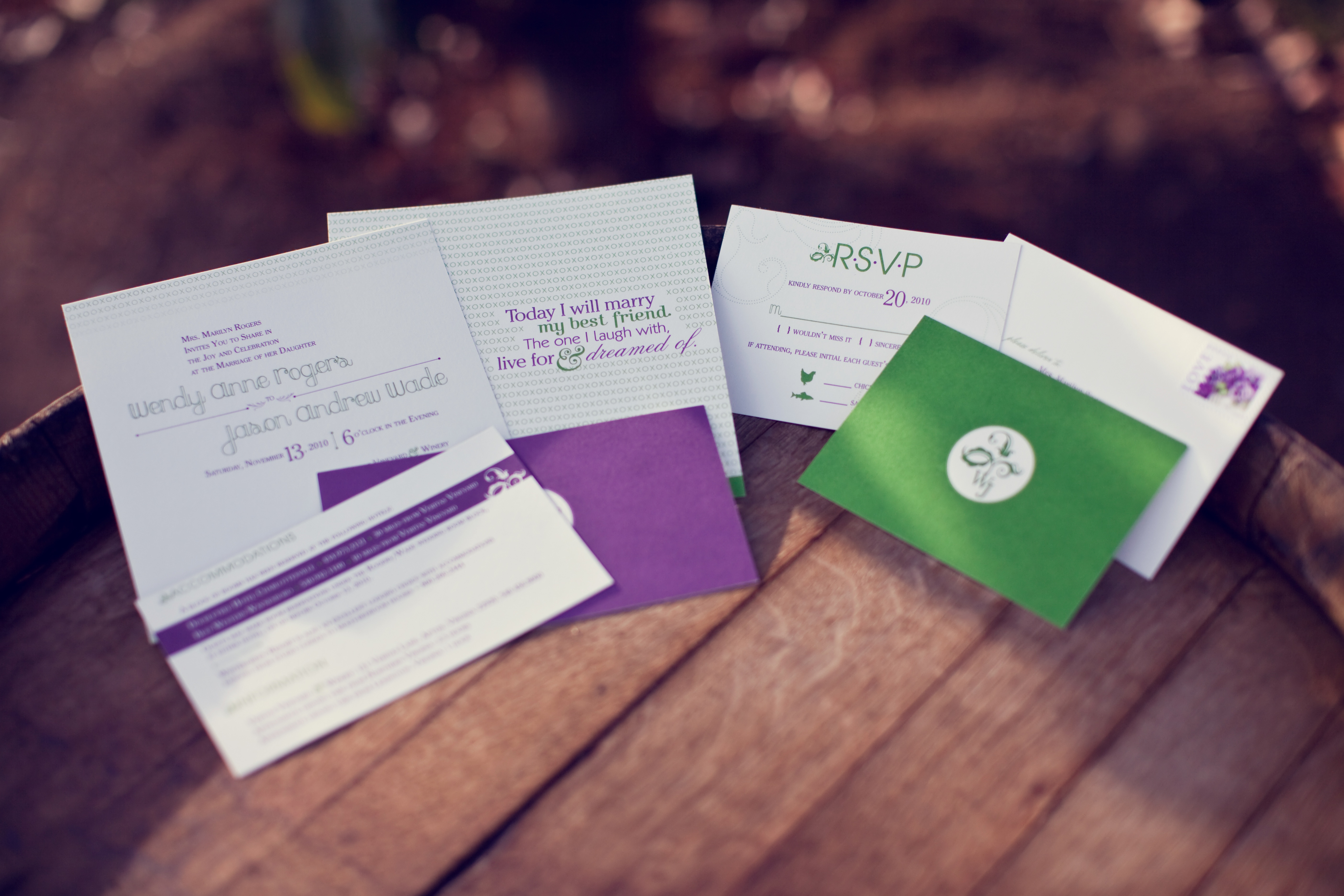 Stationery Week: Pieces Of A Wedding Invitation via TheELD.com