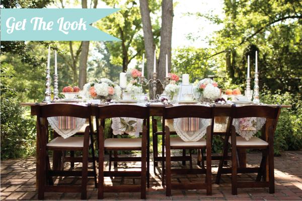 Get The Look: Vintage & Southern Wedding Inspiration via TheELD.com
