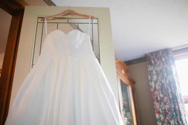Modern Eclectic Navy & Yellow Ontario Wedding  via TheELD.com