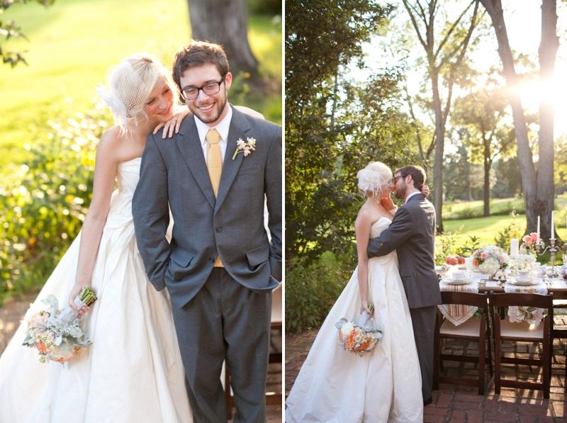Vintage & Southern Wedding Inspiration via TheELD.com