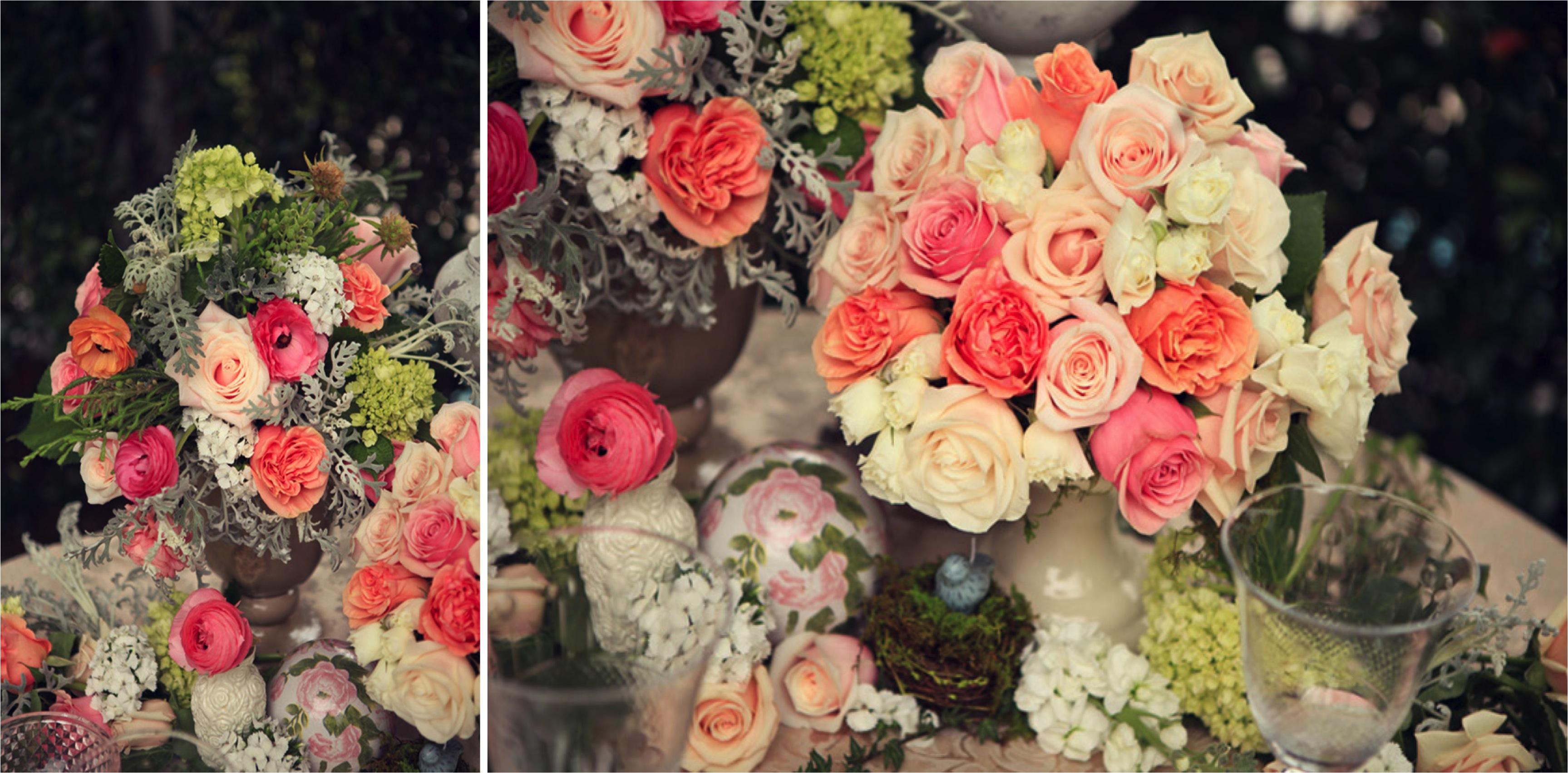 Southern Secret Garden Wedding Inspiration via TheELD.com