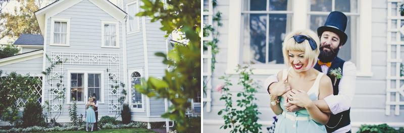 Eclectic Alice In Wonderland Wedding Inspiration via TheELD.com