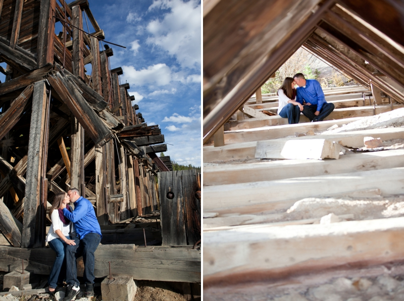 Colorado Mountains Engagement Session via TheELD.com