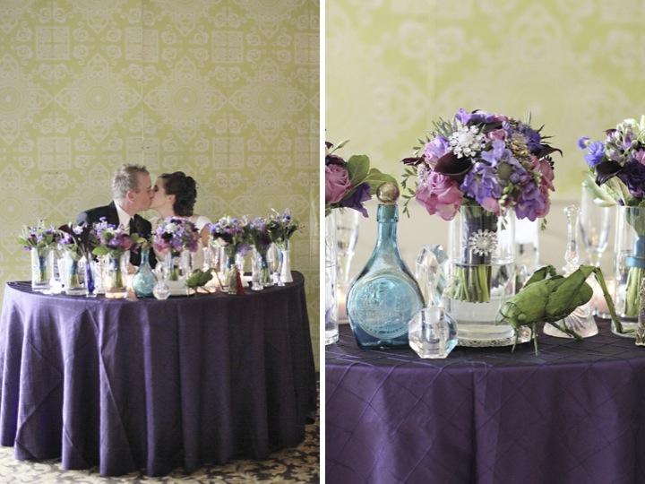 Detail To Love: Sweetheart Table Backdrops via TheELD.com