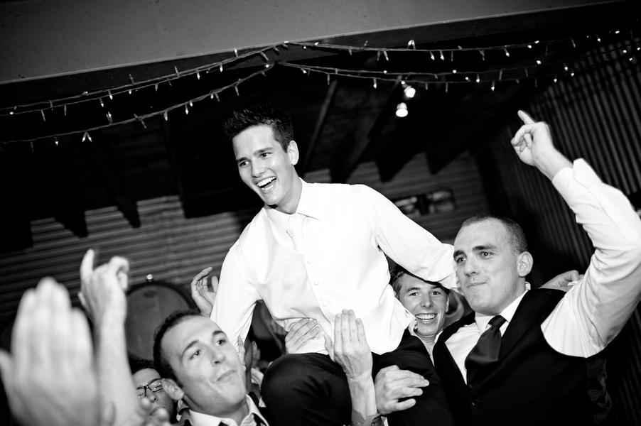 Rustic Elegant Australian Vineyard Wedding via TheELD.com