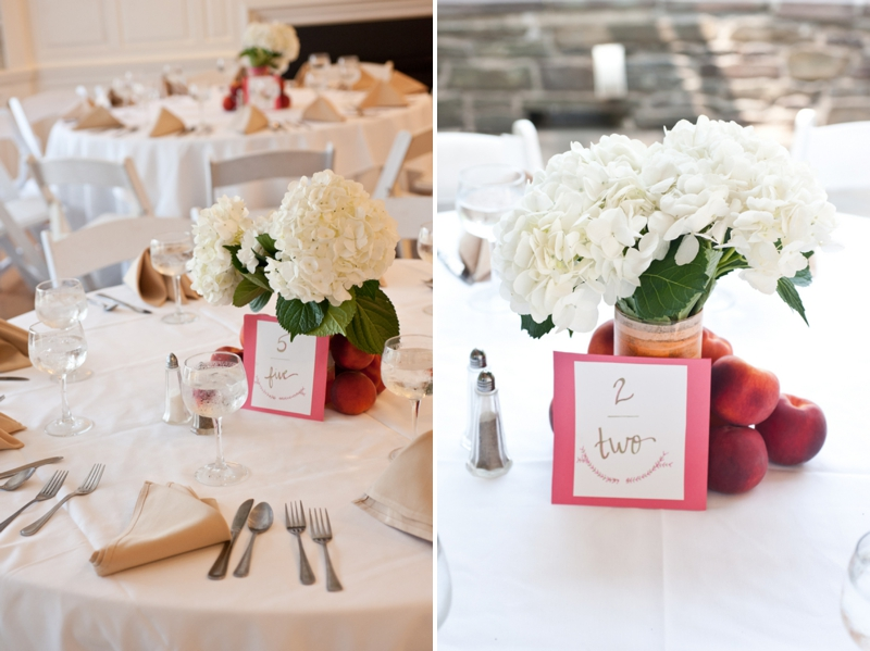 Peach and Pink New Jersey Wedding via TheELD.com