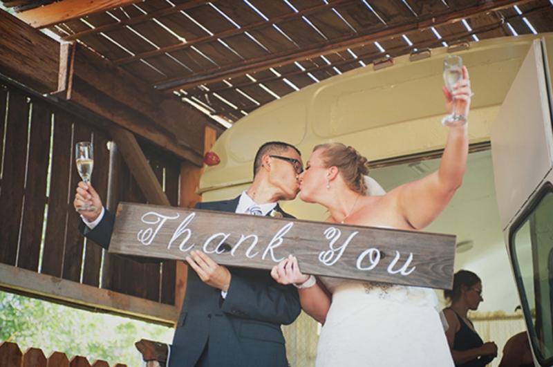 Blush Rustic & Vintage Wedding via TheELD.com