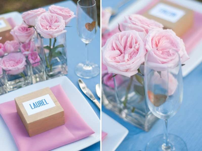 Pink Wedding Ideas {Modern} via TheELD.com