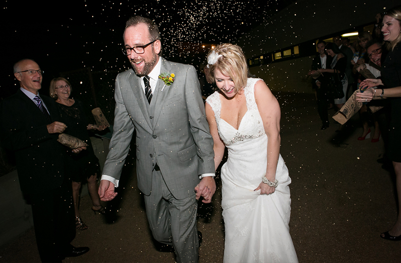 Colorful & Eclectic Texas Wedding via TheELD.com