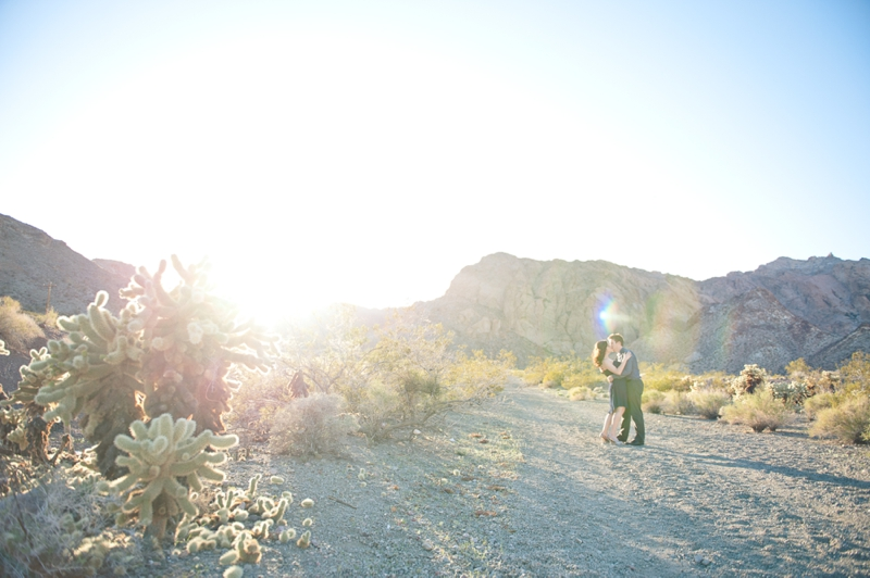 Desert Engagement Session From The Experience 2013 via TheELD.com