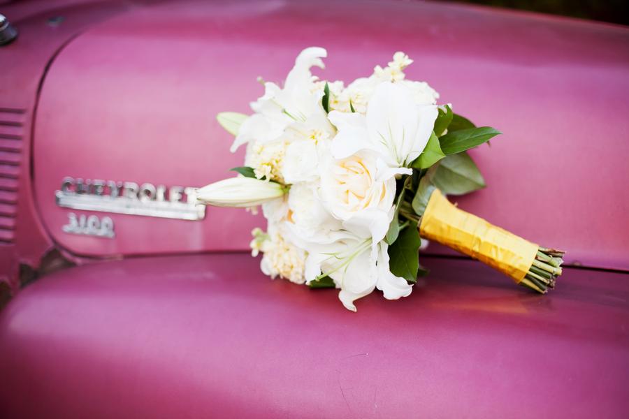 Rustic Yellow Nashville Wedding via TheELD.com