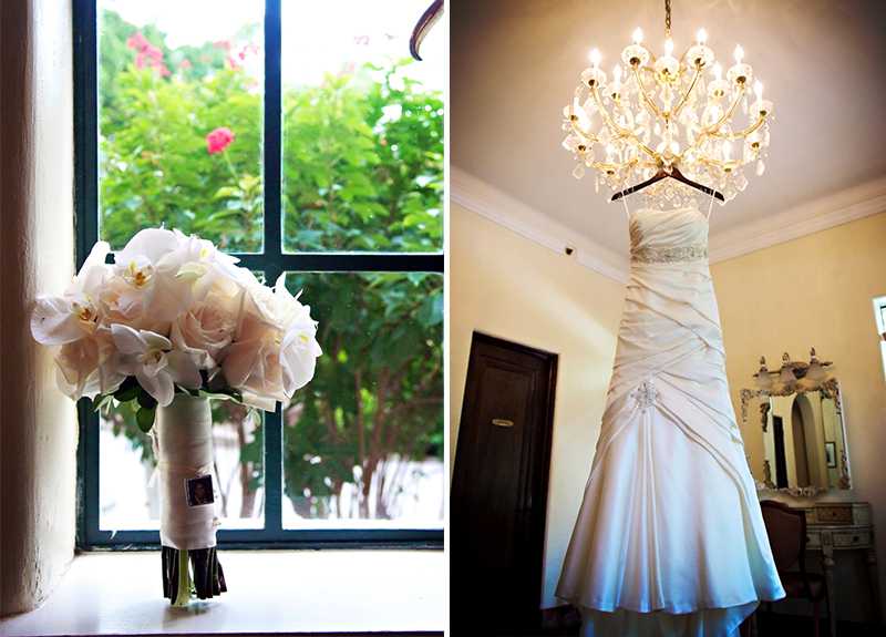 Classic Champagne and White Florida Wedding via TheELD.com