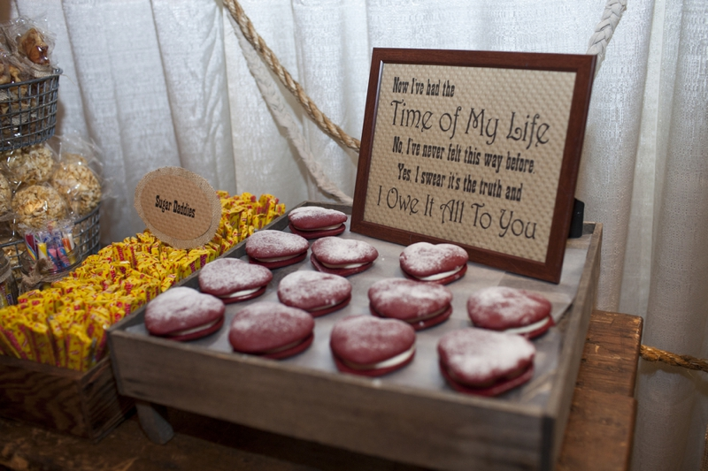 Vintage Glam and Eclectic Red and Gold Wedding via TheELD.com