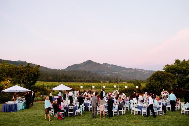 Elegant Travel Themed Purple Vineyard Wedding via TheELD.com