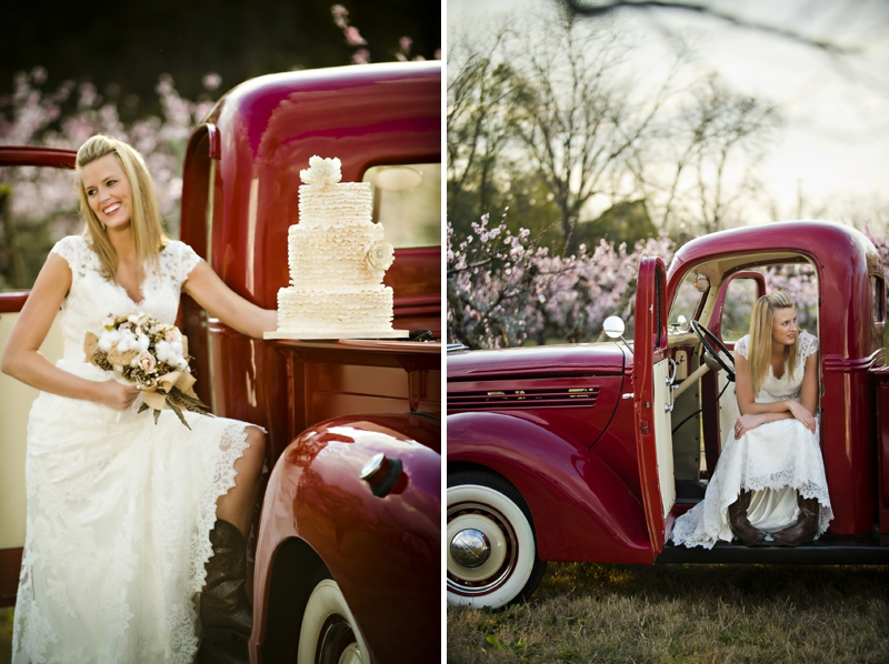 Rustic Wedding Cake Ideas  via TheELD.com
