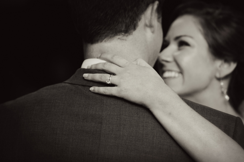 Green, Blue, and Burlap Southern Wedding via TheELD.com