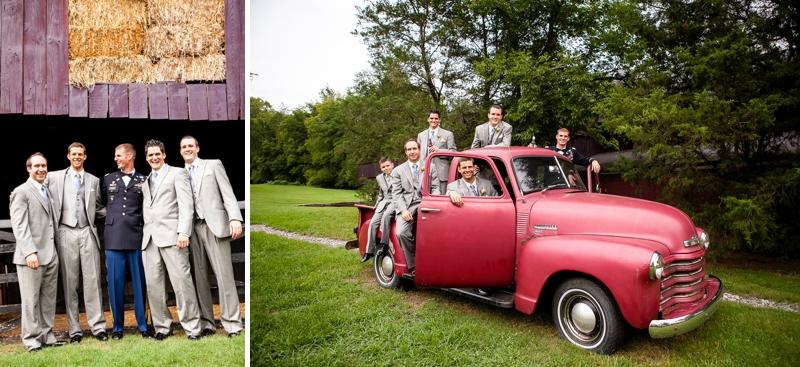 Colorful Country Vintage Nashville Wedding via TheELD.com