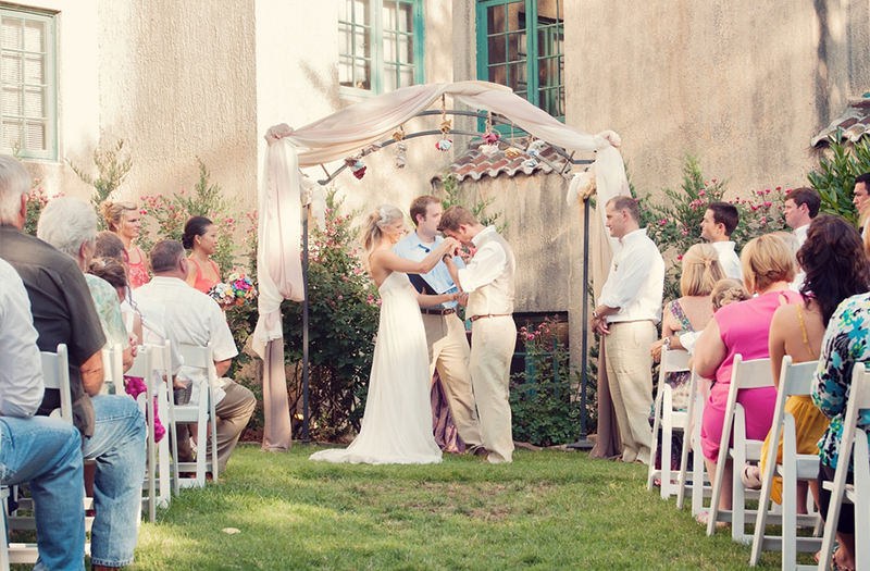 Vintage Eclectic Oklahoma Wedding via TheELD.com