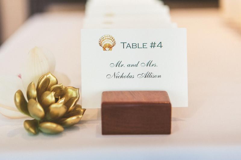 Elegant Gold and Blush Wedding via TheELD.com