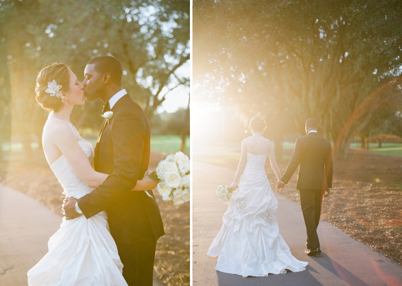Elegant Pink and Gray Wedding via TheELD.com