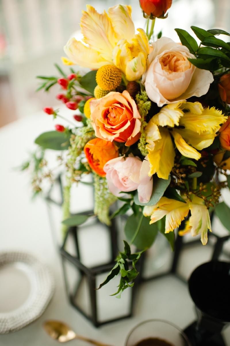 Honeycomb Wedding Ideas {Modern} via TheELD.com