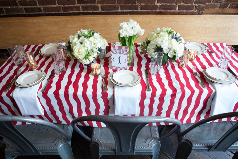 Red, White, and Blue Wedding Ideas {Eclectic} via TheELD.com