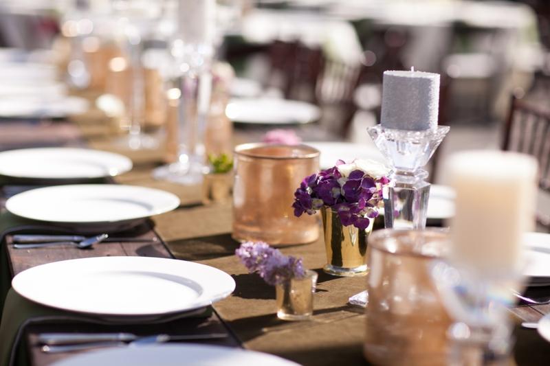 A Purple South Carolina Rustic Elegant Wedding via TheELD.com