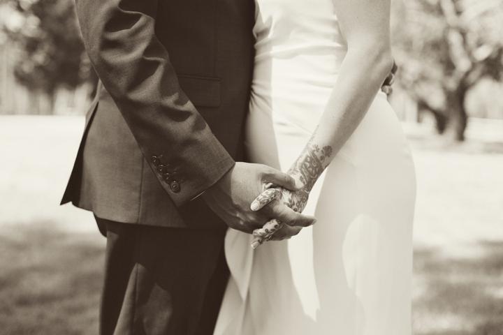 Romantic Pink and Lavender Wedding via TheELD.com