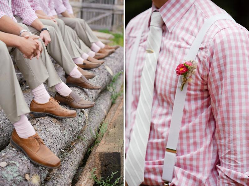 A Prince Edward Island Rustic Pink and White Wedding via TheELD.com