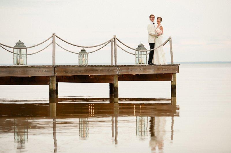Classic Blush and Gold Florida Wedding via TheELD.com