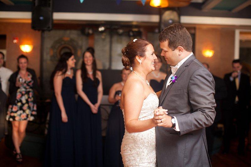 Nautical Eclectic Navy and Aqua Wedding via TheELD.com