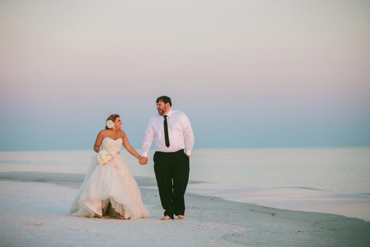 A Romantic, Sparkly Blush and Gold Wedding via TheELD.com