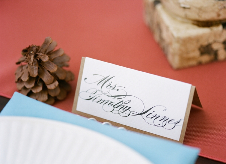 Colorful Fall Wedding Inspiration + Giving Thanks via TheELD.com