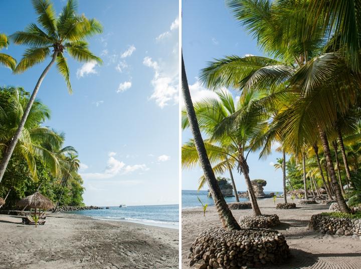 Caribbean Destination Wedding Location: Saint Lucia via TheELD.com