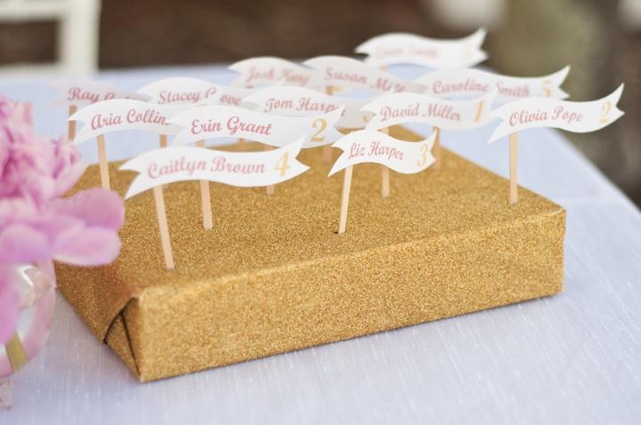 Modern Pink and Yellow Wedding Ideas via TheELD.com