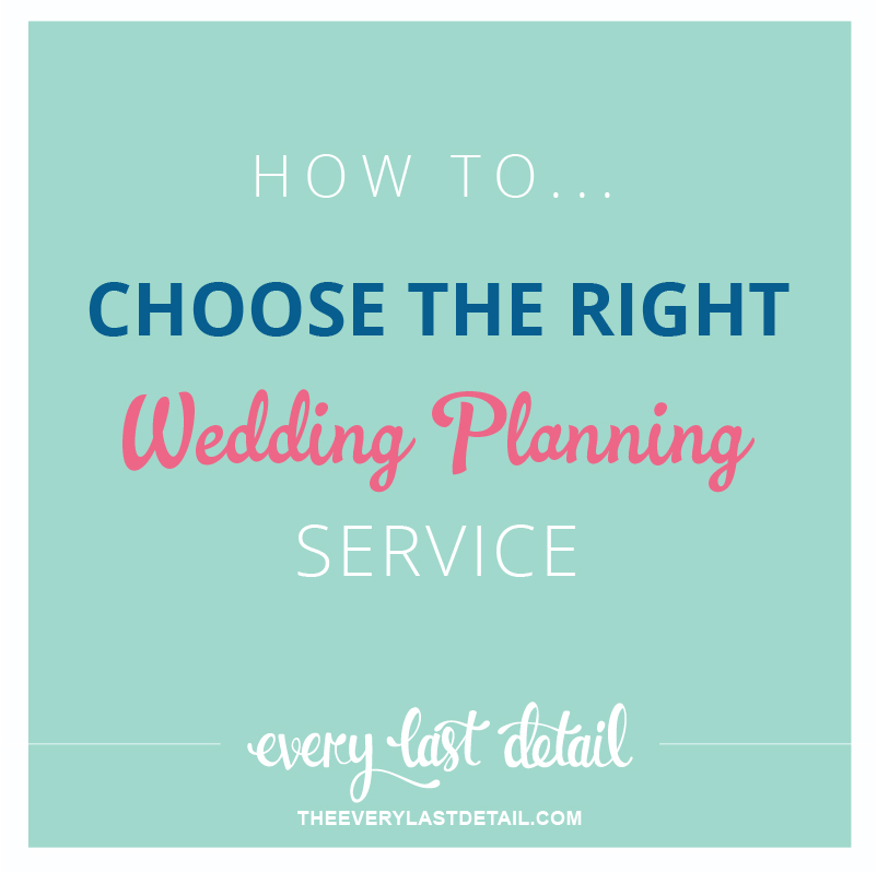 How To Choose The Right Wedding Planning Service via TheELD.com
