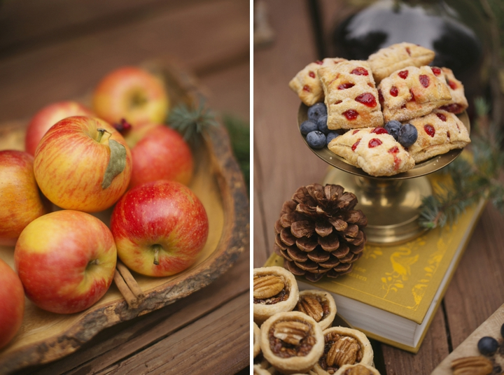 Cozy and Rustic Winter Wedding Inspiration via TheELD.com
