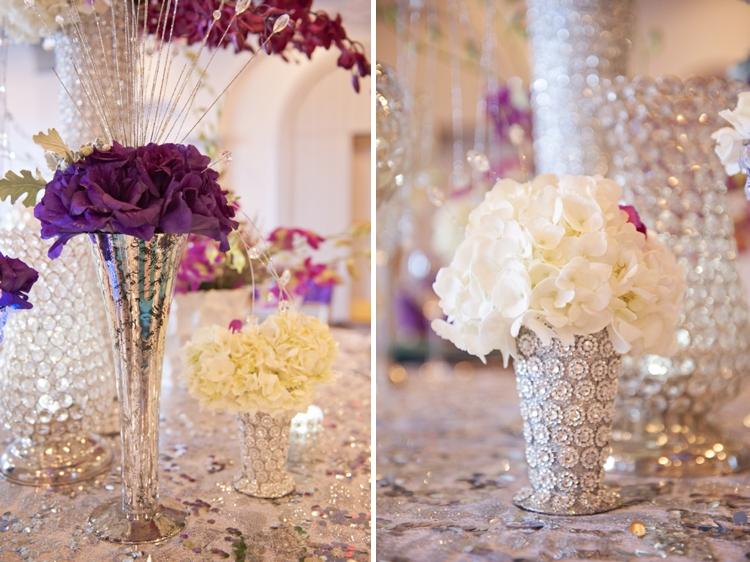 New Years Radiant Orchid Wedding Inspiration via TheELD.com
