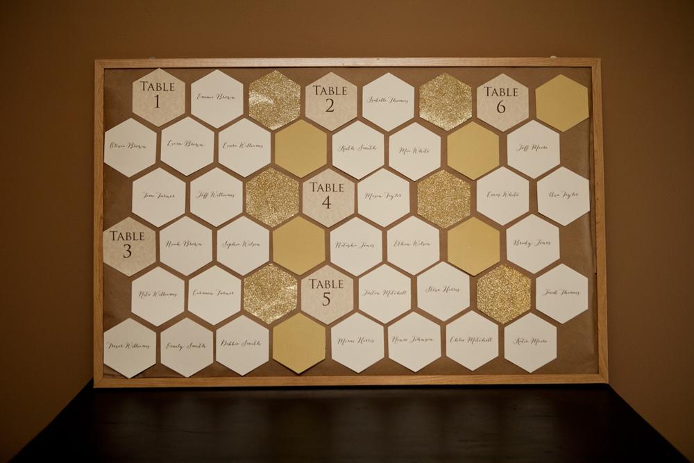 5 Unique Escort Card Ideas via TheELD.com