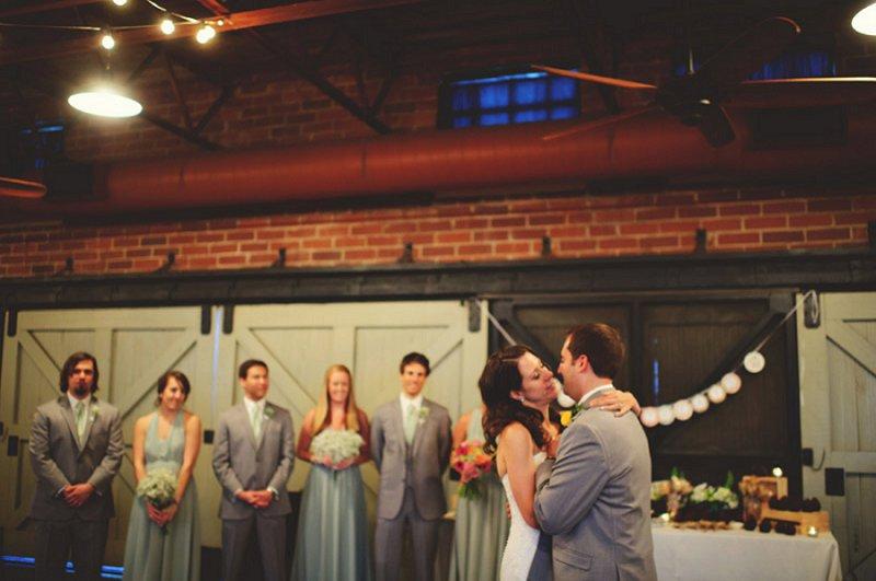 Colorful & Eclectic Winter Park Farmers Market Wedding via TheELD.com